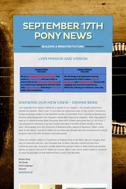 September 17th Pony News