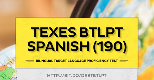 TExES BTLPT Spanish 190 Smore Newsletters For Education