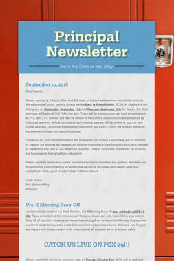 Principal Newsletter
