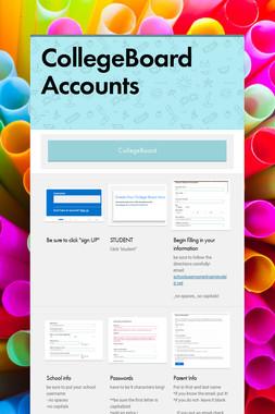 CollegeBoard Accounts