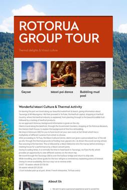 ROTORUA GROUP TOUR