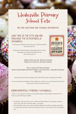 Healesville Primary School Fete