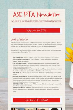 ASE PTA Newsletter
