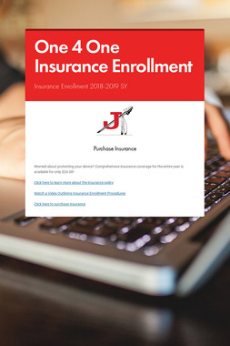 One 4 One Insurance Enrollment