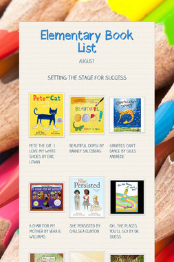 Elementary Book List