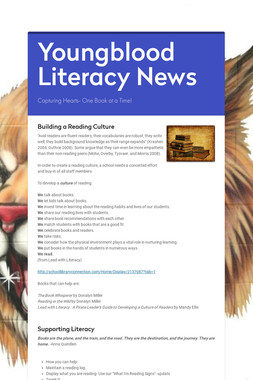 Youngblood Literacy News