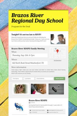 Brazos River Regional Day School
