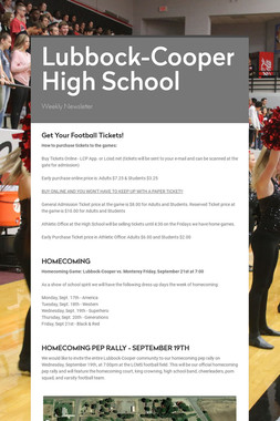 Lubbock-Cooper High School