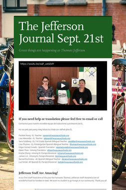 The Jefferson Journal Sept. 21st