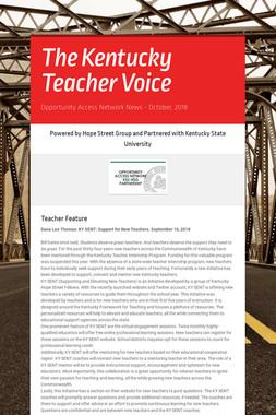 The Kentucky Teacher Voice