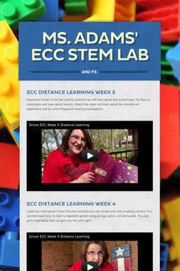 Ms. Adams' Pre-K STEM Lab
