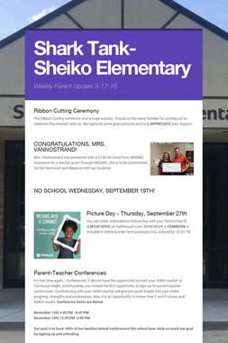 Shark Tank- Sheiko  Elementary