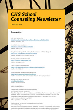 CHS  School Counseling Newsletter
