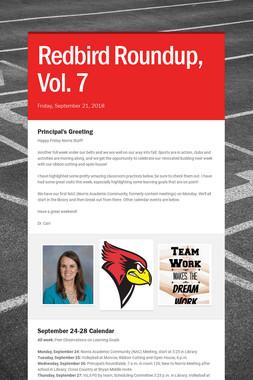 Redbird Roundup, Vol. 7