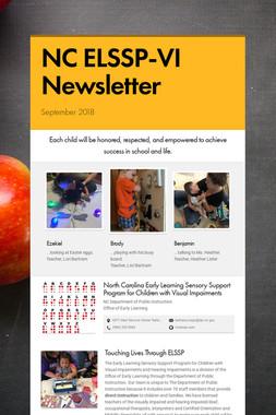 NC ELSSP-VI Newsletter