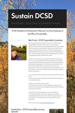 Sustain DCSD