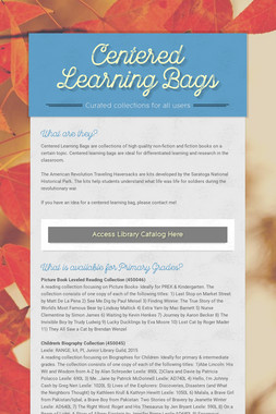 Centered Learning Bags