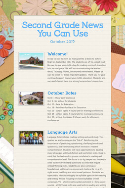 Second Grade News You Can Use