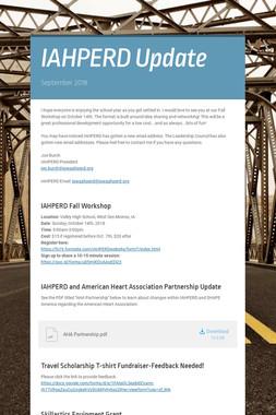 IAHPERD Update