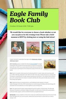 Eagle Family Book Club