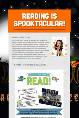 READING IS SPOOKTACULAR!