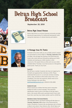 Delran High School Broadcast
