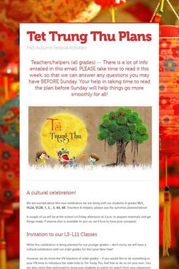 Tet Trung Thu Plans