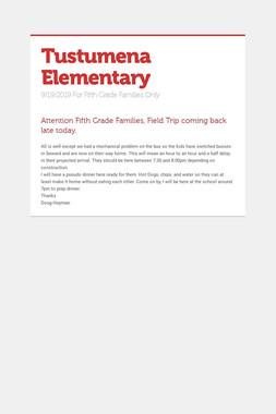 Tustumena Elementary