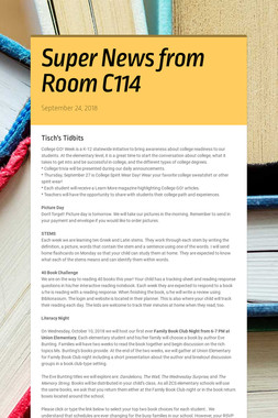 Super News from Room C114