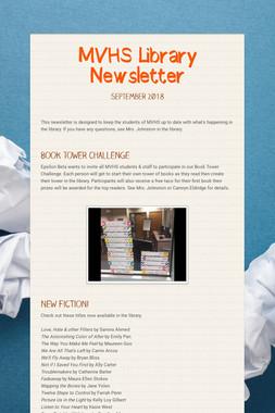 MVHS Library Newsletter