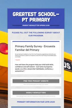 Greatest School-PT Primary