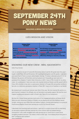 September 24th Pony News