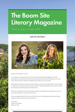 The Boom Site Literary Magazine