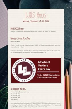 LJHS News