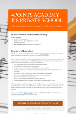 4POINTS ACADEMY K-8 PRIVATE SCHOOL