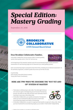 Special Edition: Mastery Grading