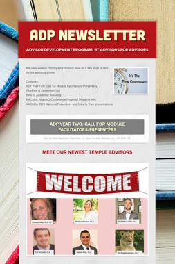 ADP Newsletter