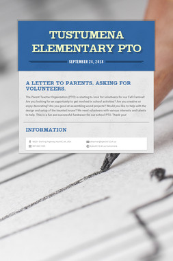 Tustumena Elementary PTO