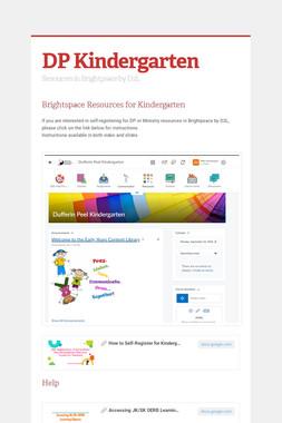 DP Kindergarten