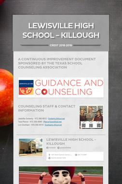 Lewisville High School - Killough