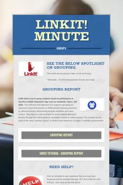 LinkIt! Minute