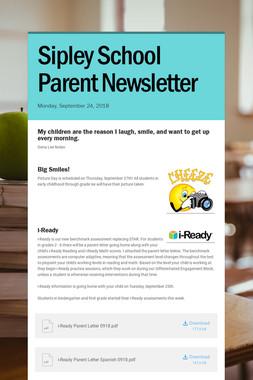 Sipley School Parent Newsletter