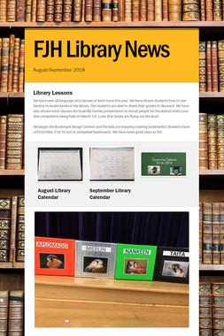 FJH Library News