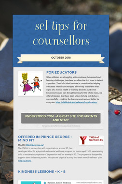 sel tips for counsellors