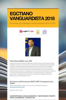 EGCTIANO VANGUARDISTA 2018