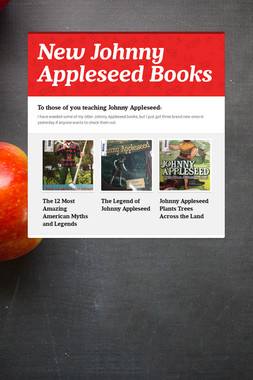 New Johnny Appleseed Books