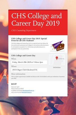 CHS College and Career Day 2019