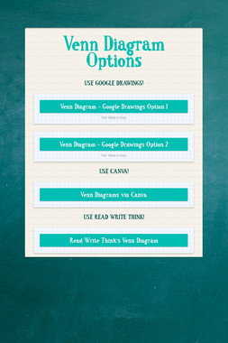 Venn Diagram Options