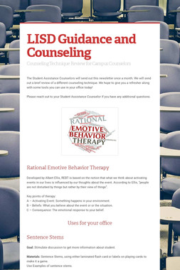 LISD Guidance and Counseling