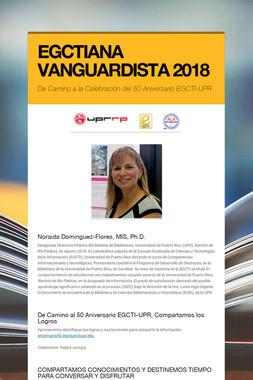 EGCTIANA VANGUARDISTA 2018